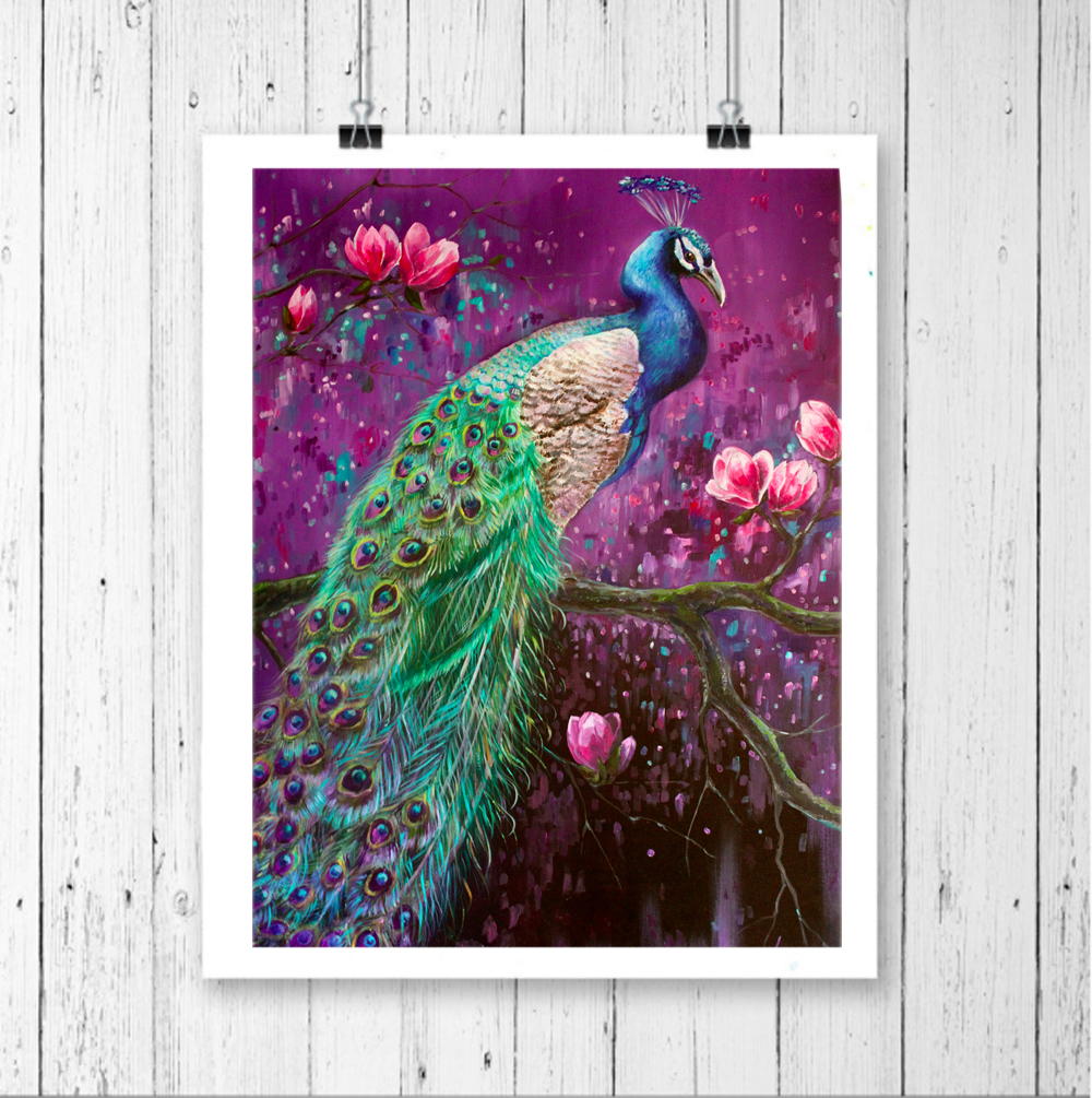 "Peacock Wall Art, ""peacock On Magnolia Tree"" Bird Prints. Mud Room Lockers. Decorating Dining Room Table. Wallpaper Home Decor. Ideas For Girls Rooms. Tufted Dining Room Sets. Portland Rooms For Rent. Palm Tree Home Decor. Cafe Decor"