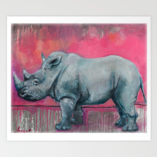 Wildlife Art Prints Animal Art Quot Still Young Quot Art Studio