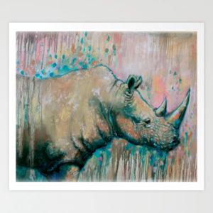 rhinoseros-art