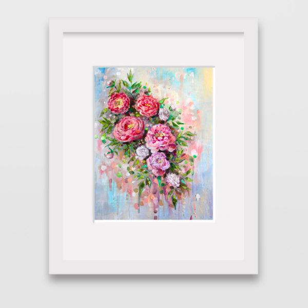 Floral Art Print Down Navarro Art Gallery