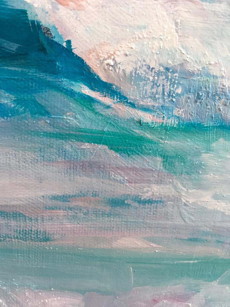 Coastal Canvas Wall Art Quot Pink Sky Quot Art Studio