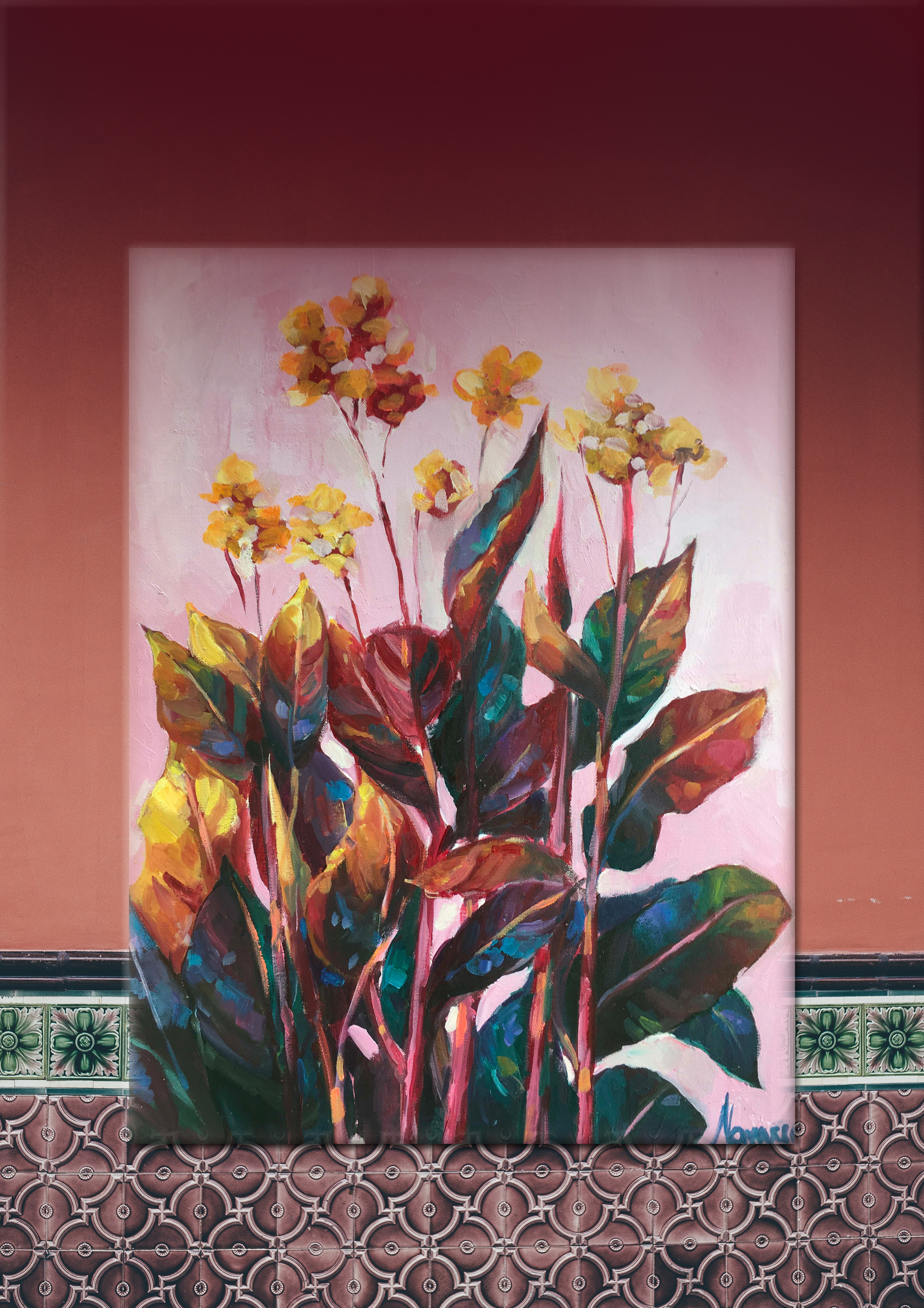 Tropical Flower Wall Art