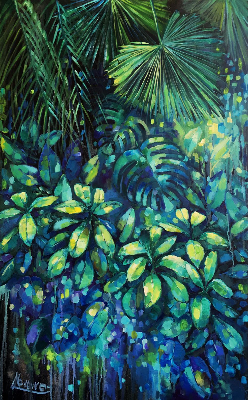Tropical Wall Art Quot Rain Forest Quot Oil Painting Art Studio